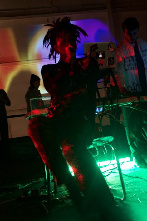 "Dey tearing through reality at ""LiveStream//Fever-Dream"""