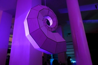One of Paula P's Audible Shell Sculptures, You can find out more about Paula at: http://www.paulapart.com/